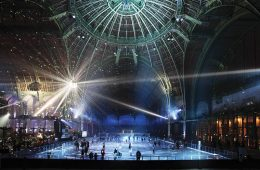 Grand Palais Paris by Night