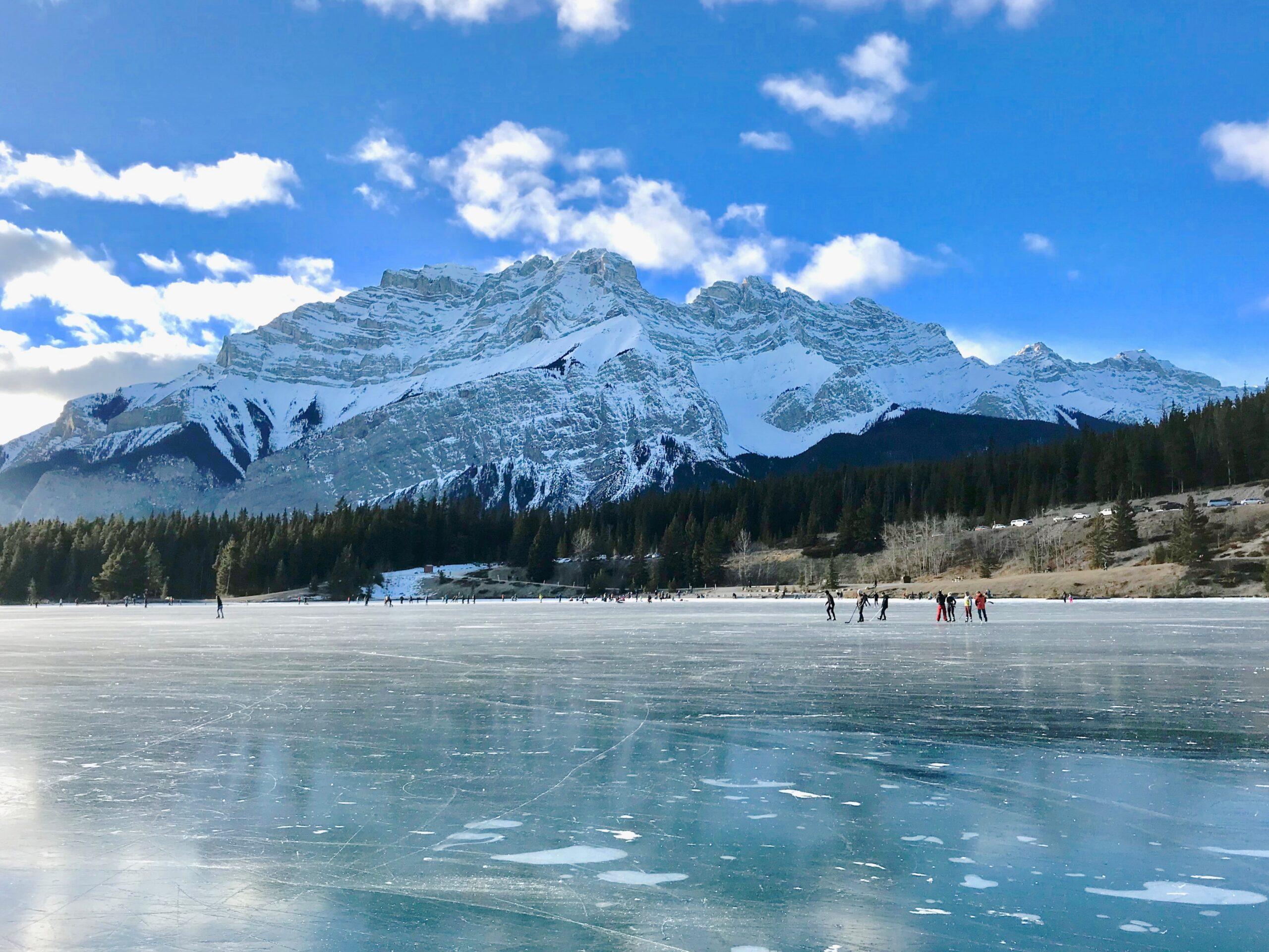 Nature's Skating Rink